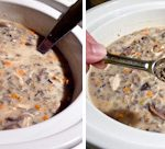 Slow Cooker Chicken Wild Rice Soup_3