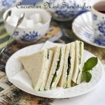 Cucumber Mint Sandwiches