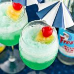 Blue Hawaiian Mocktail