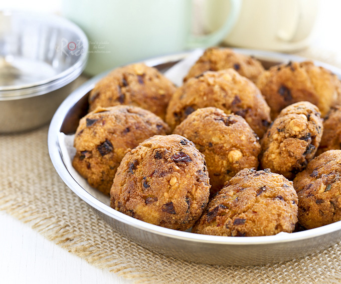 Paruppu Vadai (Lentil Patties)