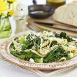 Pasta with Broccolini and Feta