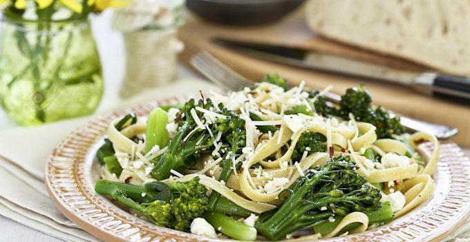 Pasta with Broccolini and Feta