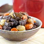 Beef Stew with Pearl Onions and Carrots