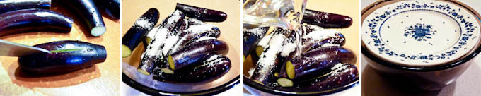 Pickled Stuffed Eggplants-1