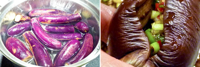 Pickled Stuffed Eggplants-2