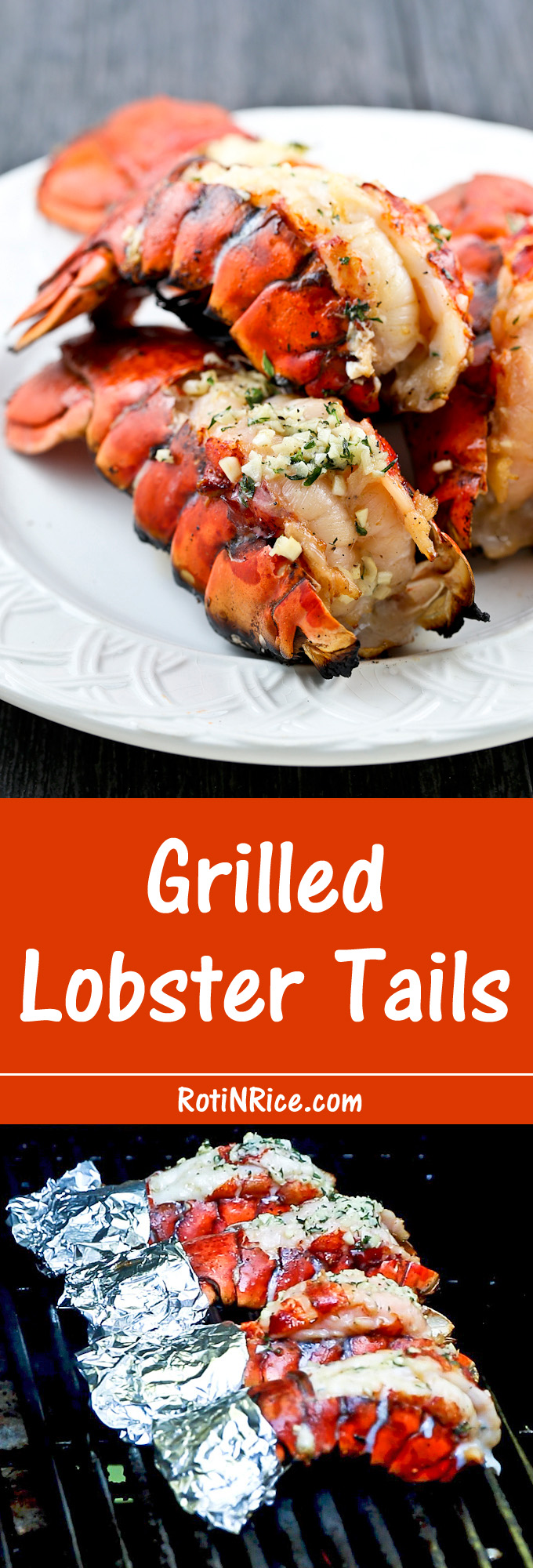 Broiled Lobster Tails Roti N Rice | Lobster House