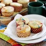 M&M Cream Cheese Cupcakes