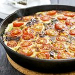 Tomato, Ham, and Potato Skillet