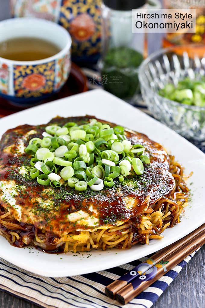 Okonomiyaki (Japanese Layered Pancakes) - the ultimate savory pancake ...