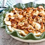 Apple Crisp with Crystallized Ginger