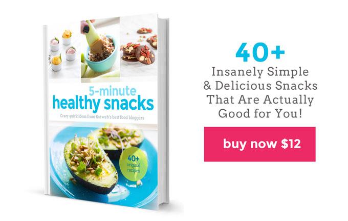 Healthy Snacks Website Cookbook