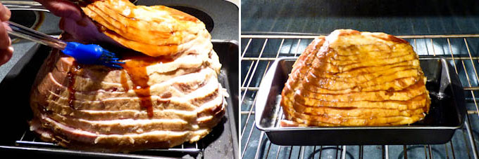 Baked Ham with Asian Barbecue Glaze-7