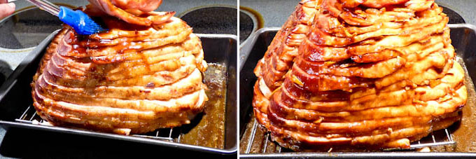 Baked Ham with Asian Barbecue Glaze-8