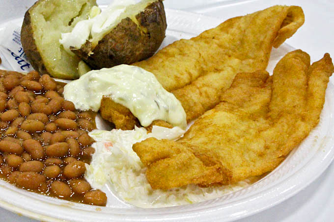 Friday fish fry 2016 roti n rice for All you can eat fish fry