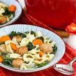 Meatball Noodle Soup