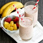 Pineapple Strawberry Smoothie and Green Smoothie Ebook