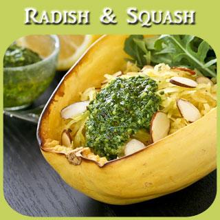 Radish & Squash