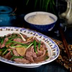 Ginger Scallion Beef Stir Fry