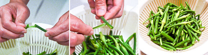 Garlic Scape and Scallop Stir Fry-7