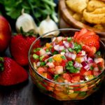Strawberry Nectarine Salsa