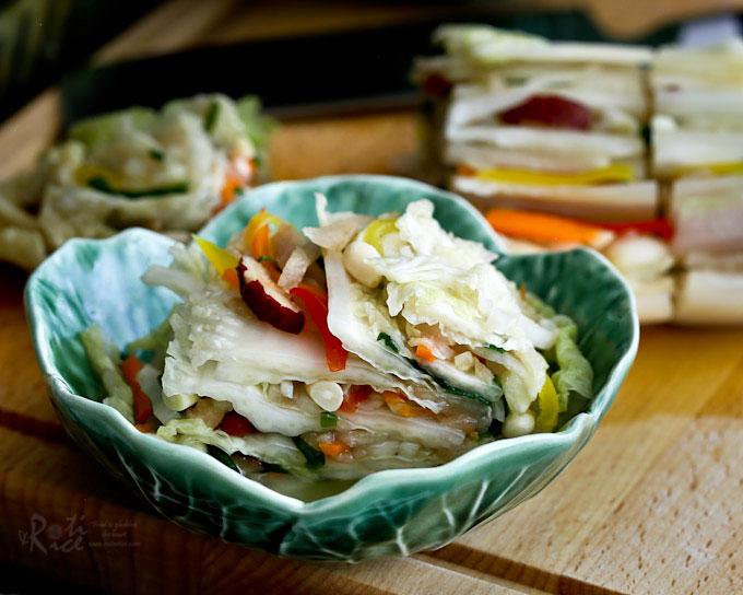 Baek Kimchi (White Kimchi)