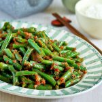 Green Beans Belacan Stir Fry