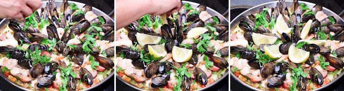 Seafood Paella - Roti n Rice