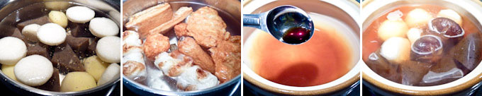 Oden (Japanese One Pot Simmered Dish)-6