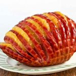 Hasselback Pineapple Ham