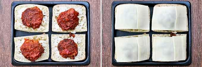 Hot Cheesy Meat Patty Sandwich-17