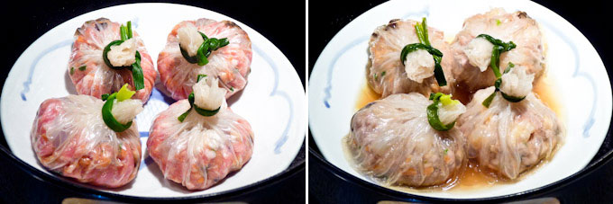 Money Bag Dumplings and Cabbage Rolls-13