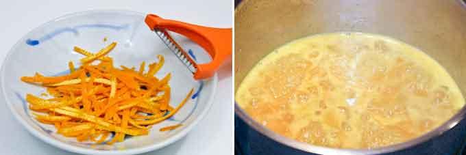 Orange Blossom Panna Cotta with Orange Sauce-8
