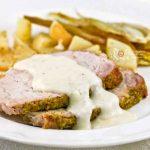Pistachio Crust Pork Loin Roast