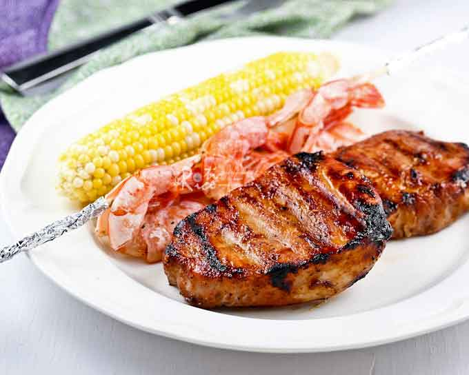 how to cook juicy pork chops on the grill
