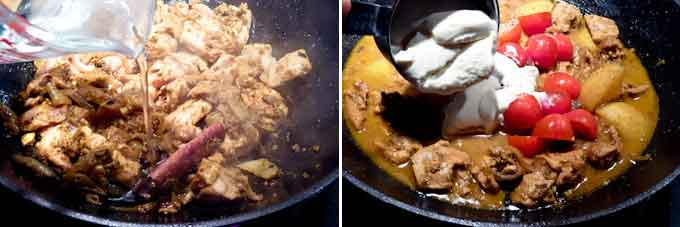 Chicken Korma with Cashew Nuts-7