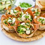 Chinese Chicken Salad Cups